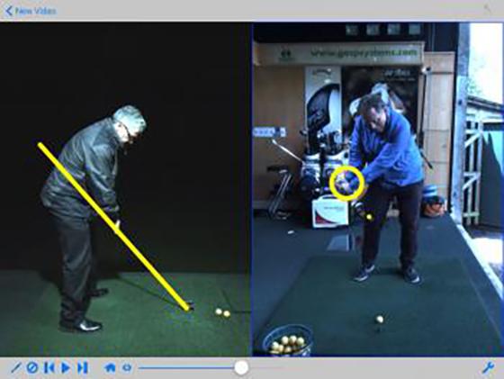 Golf swing app